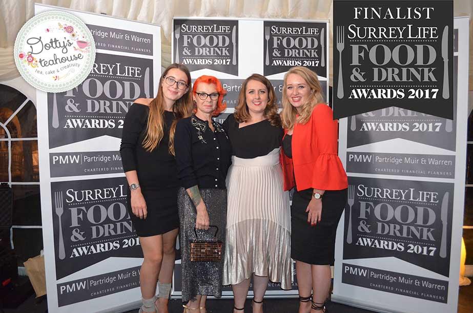 Top Three for Tea – Surrey Life Awards